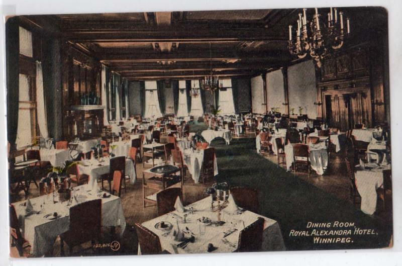 Dining Room, Royal Alexandra Hotel, Winnipeg, Man