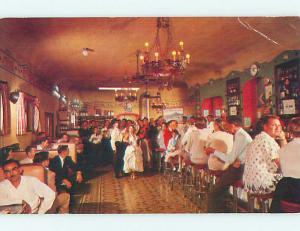 Slight Wear - Pre-1980 CAVERN BAR RESTAURANT Nogales Sonora MEXICO v7894