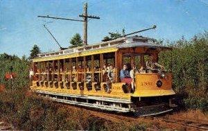 Seashore Trolley Museum in Kennebunkport, Maine