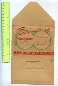 285341 AUSTRALIA Wangaratta Vintage booklet 12 views in cover