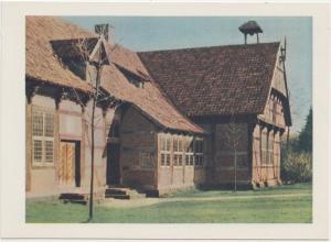 ie Burg Arkenstede (Teilansicht) , im Museumsdorf in Cloppenburg, Germany