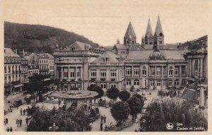 Belgium Spa Casino et Jardin 1948