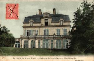 CPA Env. de MOUY Chateau de St-Agnan a HONDAINVILLE (376781)