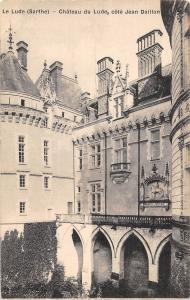 BF10116 le lude sarthe chateau du lude france    France