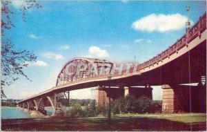 Postcard Modern Skb peace bridge buffalo new york