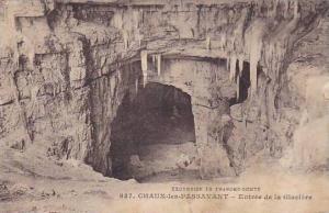 CHAUX-les-PASSAVANT, Entree de la Glaciere, Franche-Comte, France, 00-10s