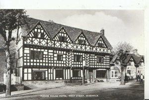 Warwickshire Postcard - Tudor House Hotel - West Street, Real Photo - Ref 16389A