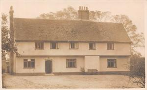 England House Haus Maison Home Building Side View, Vintage Photo