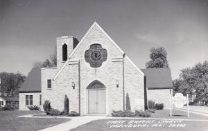 RP: 1st Baptist Church , MENDOTA , Illinois , PU-1959