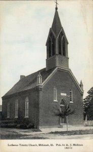 MILLSTADT, Illinois, 1900-10s; Lutheran Trinity Church