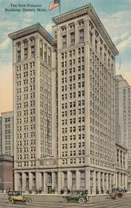 DETROIT, Michigan , 1918 ; The New Finance Building