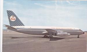 KLM Royal Dutch Airlines Convair 880M Airplane on Tarmac