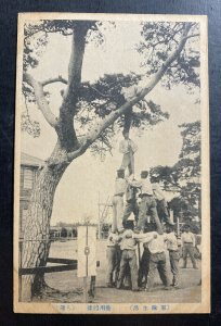 Mint WW 2 Japan Real Picture Postcard Japanese Army Shooting Practice