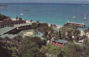 Halcyon Cove Beach Resort & Casino, Swimming Pool, Antigua, West Indies, 1940...