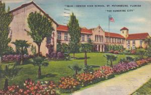 Senior High School St Petersburg Florida 1949
