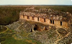 Mexico - Kabah, Yucatan. El Teocah Temple