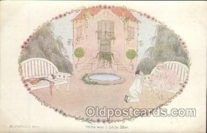 Artist Signed Wille Beck Lemair Postcard Postcards There was a Little Man unused