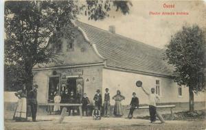 Ukraine Osove Pavlov Aresztia village universal store aruhaza shop magasin 1900s
