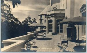 San Francisco RPPC Postcard Terrace, Christian Science Sanatorium Morton Photo
