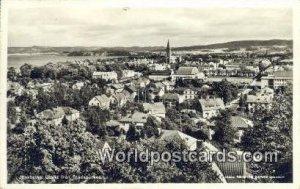 Utsikt fran Stadsparken, Jonkoping Sweden Postal Used Unknown
