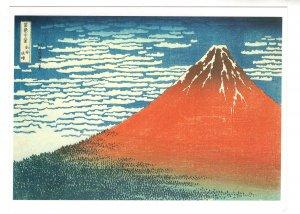 South Breeze, Fine Weather, Mount Fuji, Japan, Postcard is Approx 5 X 6.5 in