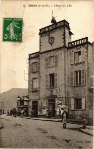 CPA THIERS - L'hotel de ville (197359)