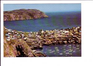 Bay de Verde, Newfoundland, Fishing Boats, Matching 8 cent stamp