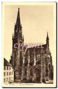 Old Postcard Thann La Cathedrale