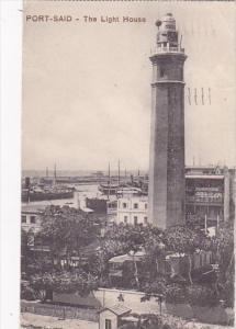 Egypt Port Said The Lighthouse 1916
