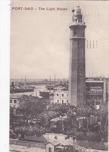 Egypt Port Said The Lighthouse 1916