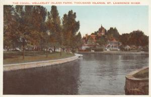 1000 Islands , Ontario , Canada , 00-10s ; Wellesley Island Farms, The Canal