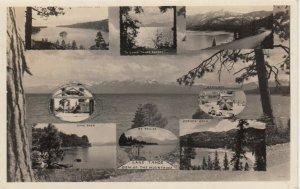 RP: LAKE TAHOE , California , 1946s ; Multiview