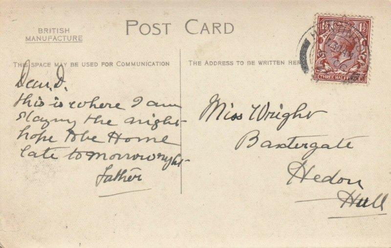 RP: Huntingdon , Cambridgeshire, England , 1922 ; George Hotel Yard