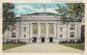 Ohio Greenville Clair Memorial Hall1946