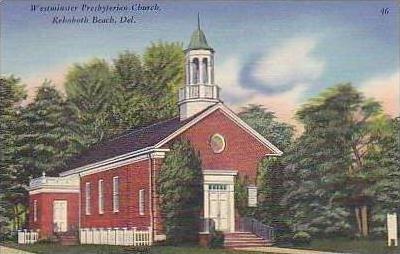 Delaware Rehoboth Beach Westminister Presbyterian Church