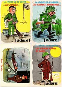 HUMOUR HUMOR MILITAIRE MILITARY 78 MODERN CP