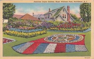 Rhode Island Providence American Legion Emblem Roger Williams Park