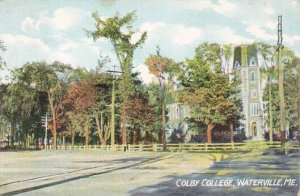 Maine Waterville Colby College 1911