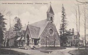 Connecticut Pomfret Christ Memorial Church And Rectory Albertype