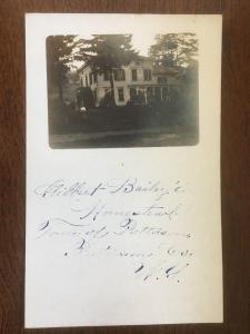 RPPC Glibert Bailey Homestead Home, Patterson, New York, Putnam County D12