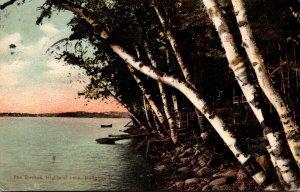 Maine Bridgton Highland Lake The Birches 1908