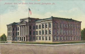 Academic Hall, 4th District State Normal, SPRINGFIELD, Missouri, PU-1909