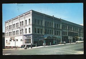 Burlington, Vermont/VT Postcard, Hotel Huntington/Downtown, 1959!