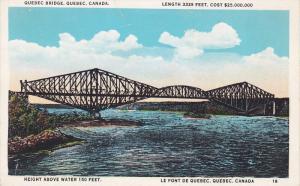 Quebec Bridge, Quebec, Canada, 1910-1920s