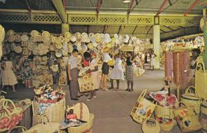 Straw Section, Victoria Crafts Market, KINGSTON, Jamaica, 40-60's