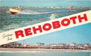 1920s Rehoboth Beach Delaware Speedboat Rodgers Colorpicuture 9030
