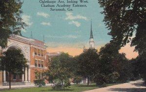 Chatham Academy Entrance , SAVANNAH , Georgia , PU-1916