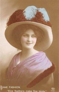 Dame Fashion Hats Unused