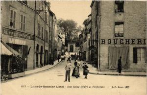 CPA LONS le SAUNIER Rue St-Desire et prefecture (447316)