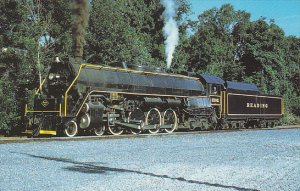 Reading Railway T-1 Class 4-8-4 Locomotive Number 2102